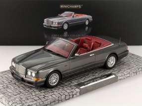 Bentley Continental Azure Year 1998 gray metallic 1:18 Minichamps