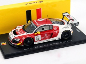 Audi R8 LMS ultra #16 24h Spa 2013 Ide, Kumpen, Winkelhock 1:43 Spark