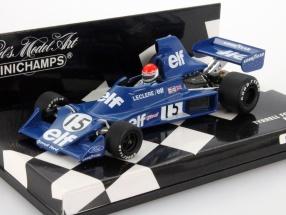 M. Leclere Tyrrell Ford 007 #15 Formula 1 1975 1:43 Minichamps