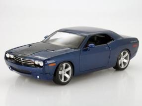 Dodge Challenger Concept Baujahr 2006 blau metallic 1:18 Maisto