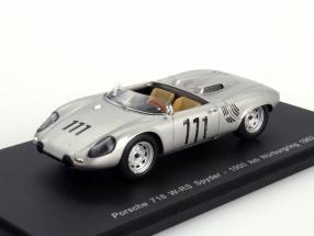 Porsche 718 W-RS Spyder #111 1000km Nürburgring 1962 1:43 Spark