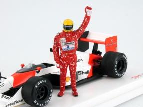Ayrton Senna Figure Type VI Formula 1 1988 1:43 TrueScale