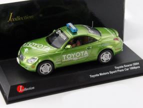 Toyota Soarer Toyota Motorsports Safety Car 2004 green 1:43 JCollection