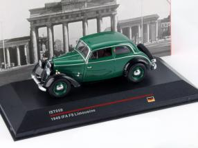 IFA F8 Limousine Year 1949 green / black 1:43 Ixo IST