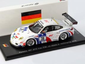 Porsche 911 (997) GT3 Cup #38 24h Nürburgring 2013 1:43 Spark