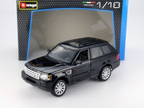 Range Rover Sports black 1:18 Bburago
