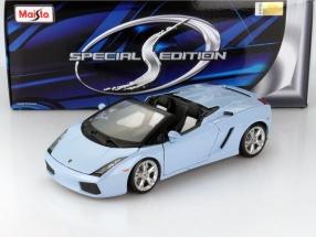 Lamborghini Gallardo Spyder hellblau 1:18 Maisto