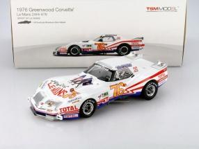 Chevrolet Corvette Greenwood #76 24h LeMans 1976 1:18 TrueScale