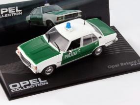 Opel Rekord D Year 1972-1977 Police 1:43 Ixo Altaya