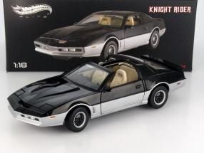 Pontiac TransAm Knightrider K.A.R.R. black / gray 1:18 HotWheels Elite