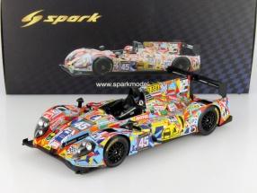 Morgan-Nissan OAK #45 24h LeMans 2013 Nicolet / Merlin / Mondolot 1:18 Spark