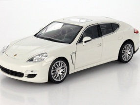 Porsche Panamera S Year 2009 white 1:24 Welly