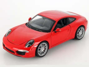 Porsche 911 (991) Carrera S red 1:24 Welly