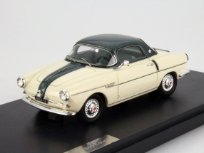 Fiat 600 Viotti Coupe cream white / green 1:43 Matrix