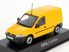 Opel Combo C Van yellow 1:43 Minichamps