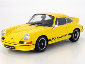 Porsche 911 Carrera RS 2.7 yellow 1:18 Welly