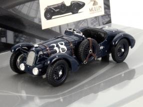 Talbot Lago T26-SS #38 Grand Prix Year 1936 dark blue 1:43 Minichamps