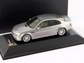 BMW M3 CSL Year 2003 steel gray metallic 1:43 Premium X