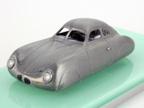 Porsche Type 64 Baujahr 1939 Skulptur polished silber 1:43 TrueScale