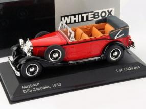 Maybach DS8 Zeppelin Baujahr 1930 rot / schwarz 1:43 WhiteBox