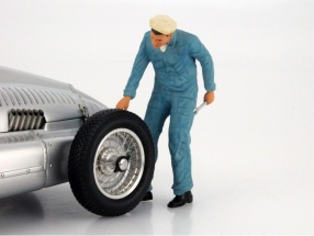 Mechanic with blue Overalls  Figure 1:18 FigurenManufaktur