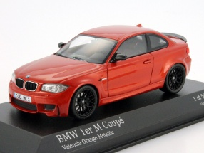 BMW 1er M Coupe (E82) Baujahr 2011 valencia orange metallic 1:43 Minichamps