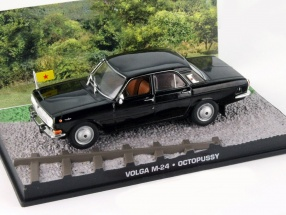 Volga M-24 James Bond Movie Car Octopussy black 1:43 Ixo