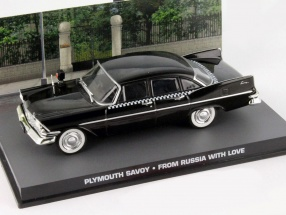 Plymouth Savoy James Bond Movie Car From Russia with love black 1:43 Ixo