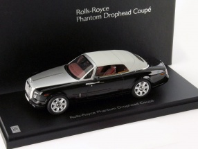 Rolls Royce Phantom Drophead Coupe Year 2012 black 1:43 Kyosho