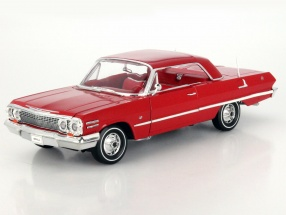 Chevrolet Impala Hard Top Baujahr 1963 rot 1:18 Welly