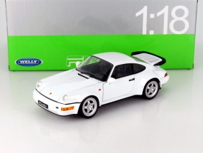 Porsche 964 Turbo white 1:18 Welly