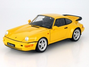 Porsche 964 Turbo gelb 1:18 Welly