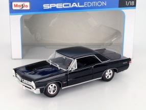 Pontiac GTO Baujahr 1965 Hurst Edition schwarz 1:18 Maisto
