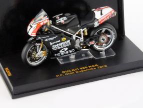 Pierfrancesco Chili Ducati 998 NCR #7 Superbike 2002 1:24 Ixo