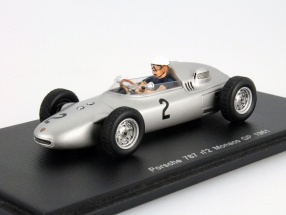 Jo Bonnier Porsche 718 #2 Formula 1 1961 GP Monaco 1:43 Spark