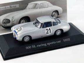 Mercedes-Benz 300 SL #21 racing sports car 1952 1:43 Altaya