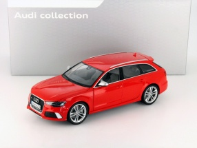 Audi RS6 Avant Misano red 1:18 Minichamps