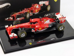 F. Alonso Ferrari F138 Winner Chinese GP Formel 1 2013 1:43 HotWheels Elite