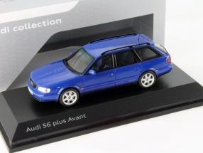Audi S6 Plus Avant nogaro blue 1:43 Spark
