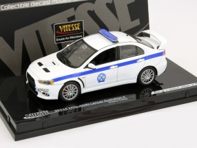 Mitsubishi Lancer Evolution X Police Greece 1:43 Vitesse