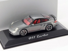 Porsche 911 (997) Turbo gray metallic 1:43 Minichamps