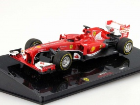 F. Alonso Ferrari F138 Winner Chinese GP Formel 1 2013 1:43 HotWheels Elite