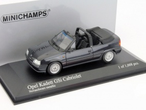 Opel Kadett GSI Cabriolet year 1989 black 1:43 Minichamps