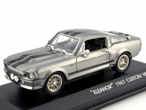 Ford Mustang Shelby GT500E Eleanor Gone in 60 seconds gray 1:43 Greenlight