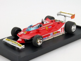 J. Scheckter Ferrari 312 T4 #11 Weltmeister GP Italien Formel 1 1979 1:43 Brumm