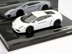 Lamborghini Gallardo LP 550-4 Lamborghini Academy 2009 white 1:43 Minichamps