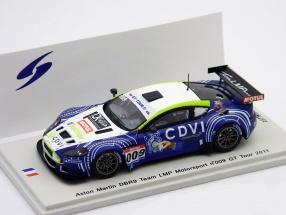 Aston Martin DBR9 LMP Motorsport #009 GT Tour 2011 1:43 Spark