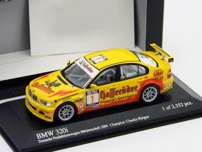 BMW 320i #1 DPM 2004 Claudia Hürtgen 1:43 Minichamps