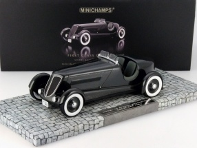 Ford Edsel Special Speedster Baujahr 1934 schwarz 1:18 Minichamps