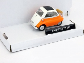 BMW Isetta 250 orange / white 1:43 Cararama